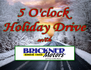 5 O'Clock Holiday Drive