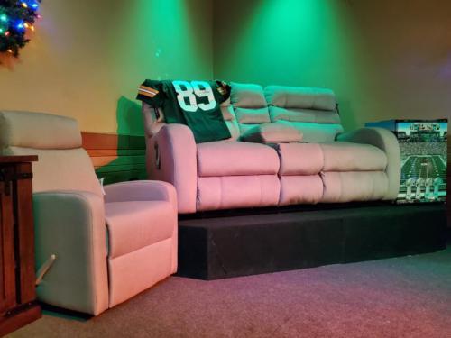 105 Recliner and sofa
