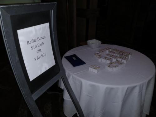 Raffle Ticket Boxes
